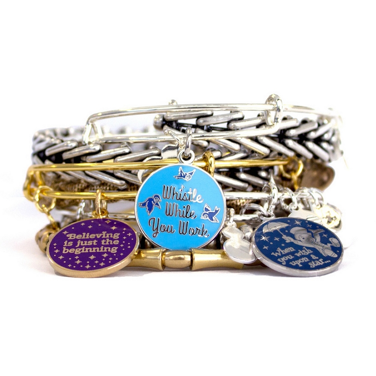 Your Wdw Store Disney Alex And Ani Charm Bracelet Whistle While