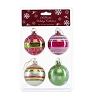 SeaWorld Ornament Set - Red, Green, and Gold Glass