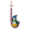 SeaWorld Christmas Ornament - Penguin Candy Cane