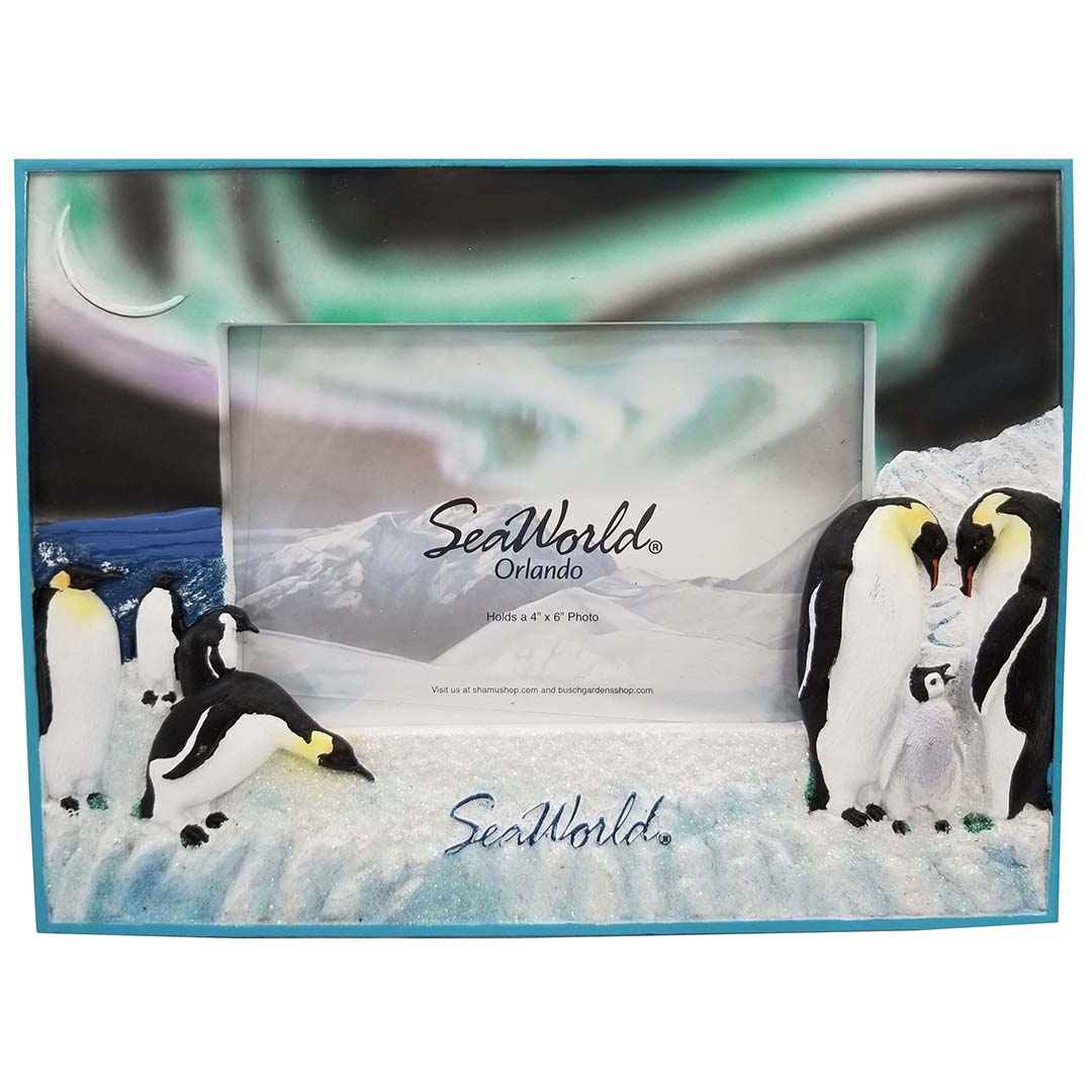 SeaWorld Photo Frame - Penguin Auroras Australis