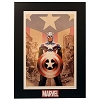 Disney Marvel Lithograph Print - Captain America 45 - Limited Edition 1000