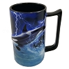 SeaWorld Coffee Cup - Orca Whale Lightning Storm