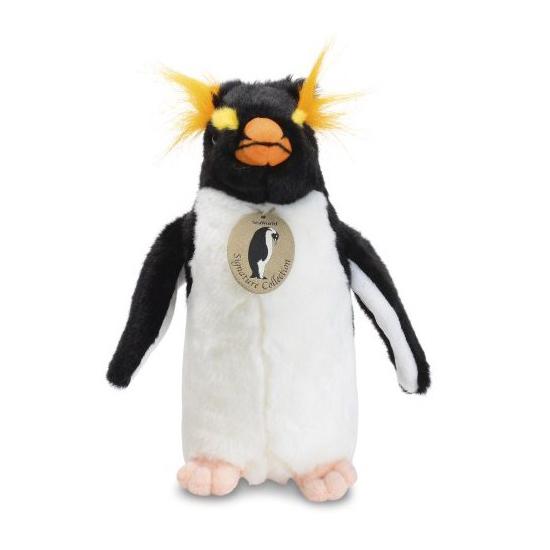 Seaworld Plush Rockhopper Penguin 9 Inch