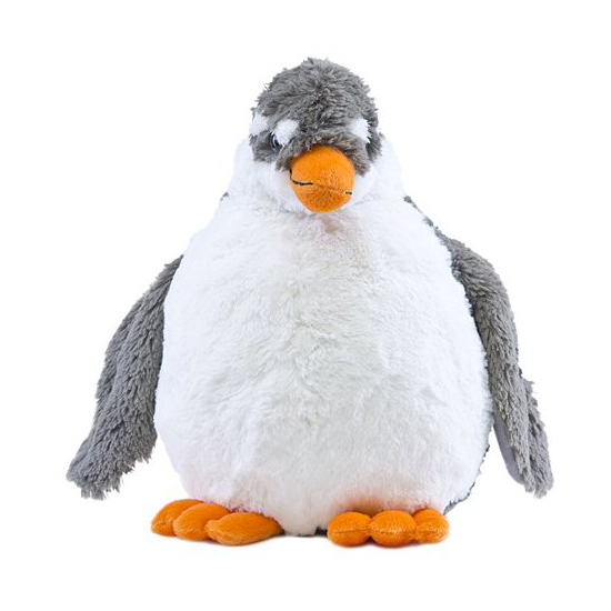 Seaworld Plush Puck Penguin With Sound And Movement
