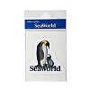 SeaWorld Vinyl Decal - Penguin And Baby Penguin