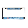 SeaWorld License Plate Frame - I Love Shamu Glitter