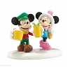 Disney Village Figurine - Mickey and Minnie's Date Night