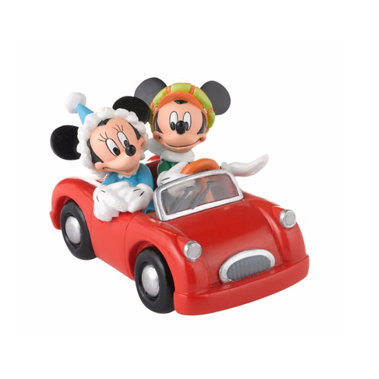 Department 56 Disney Village - Mickey and Minnie's Holiday Drive