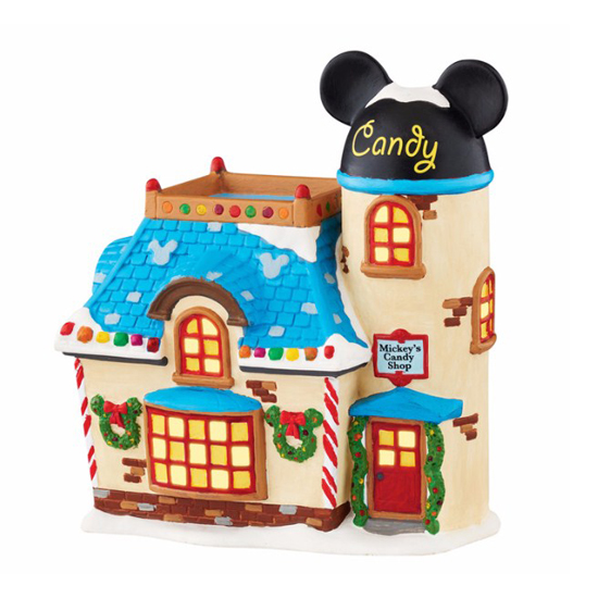 Disney Village Figure by Dept56 - Mickey's Candy Shop