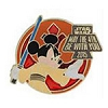 Disney Star Wars Pin - 2015 May the Fourth be with You - Jedi Mickey