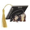 Disney Graduation Day Pin - 2015 Chip and Dale