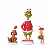 Universal Dr. Seuss Grinch Village - Grinch, Max & Cindy-Lou Who