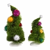 Universal Dr. Seuss Grinch Village - Wonky Trees, Set of 2