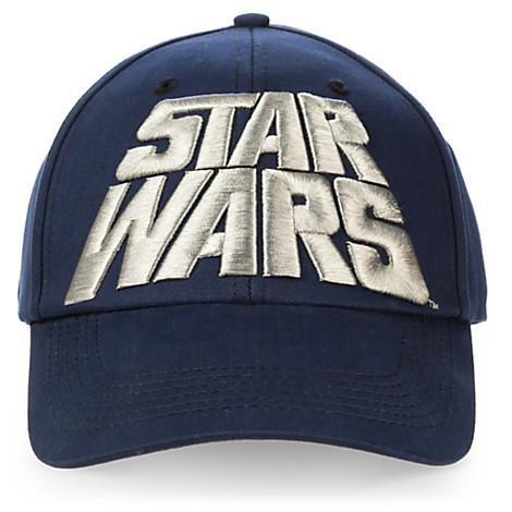 Disney Hat Baseball Cap - STAR WARS - Logo Cap for Adults 7398da5484d