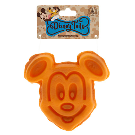 Disney Tails Pet Toy - Mickey Mouse Waffle Chew Toy - Large