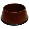 Disney Tails Pet Accessory - Dog Bowl - Mickey Icons - Brown