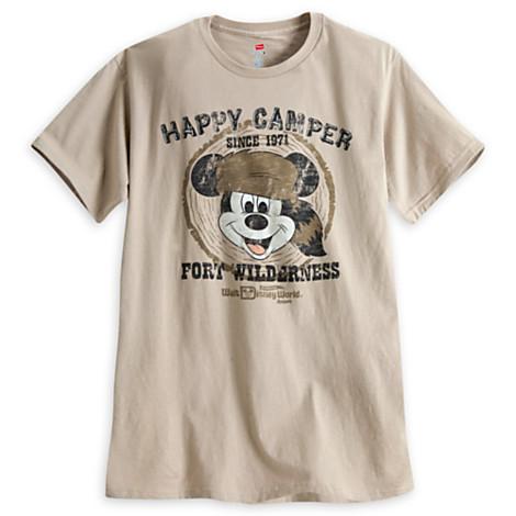 5204cba1 Disney Adult Shirt - Fort Wilderness - Mickey Happy Camper