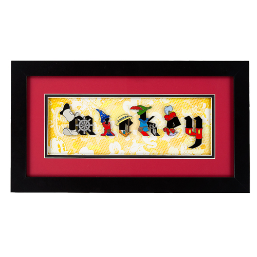 Your WDW Store - Disney Framed Pin Set - Mickey