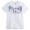 Disney Adult Shirt - Main Street USA - Mickey & Walt Disney V-Neck Tee