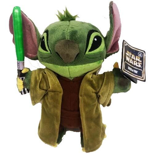 Disney Plush Star Wars Weekends 2015 Jedi Master Yoda Stitch