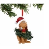 Universal Ornament - Grinch - Max Wrapped In Wreaths