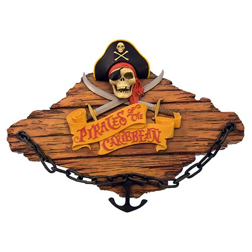 Disney Signage - Pirates of the Caribbean - Dead Men Tell No Tales