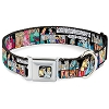 Disney Designer Pet Collar - Cinderella and Characters - Comic Strip