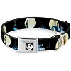 Disney Designer Pet Collar - NBC - Jack Sally and Zero - Moon Scenes