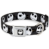 Disney Designer Pet Collar - NBC Jack Expressions - Gray