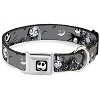 Disney Designer Pet Collar - NBC - Jack and Sally in the Cemetery