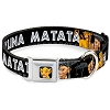 Disney Designer Pet Collar - Lion King - Simba Nala Hakuna Matata