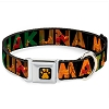 Disney Designer Pet Collar - Lion King - Simba Timon Pumbaa Hakuna