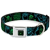 Disney Designer Pet Collar - Monsters Inc. - Sulley and Mike - Neon Poses