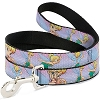 Disney Designer Pet Leash - Tinker Bell Poses - Purple and Pink Fade