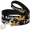 Disney Designer Pet Leash - Lion King - Simba & Nala  HAKUNA MATATA
