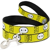 Disney Designer Pet Leash - Big Hero Six - Baymax - Hanko Face
