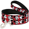 Disney Designer Pet Leash - Mickey Mouse Winking - Red