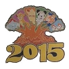 Disney 2015 Jumbo Pin Collection - 2015 Jumbo Animal Kingdom