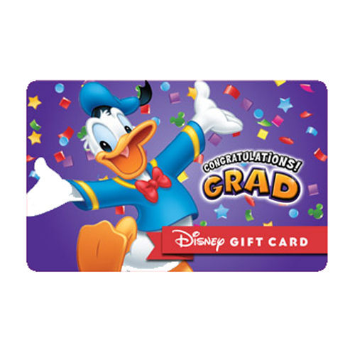 Disney Collectible Gift Card - Congrats Grad from Donald