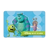 Disney Collectible Gift Card - Monsters Inc.