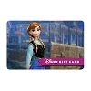 Disney Collectible Gift Card - Princess Anna