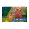 Disney Collectible Gift Card - The Lion King - Hakuna Matata