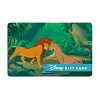 Disney Collectible Gift Card - The Lion King - The Love Tonight
