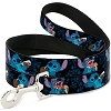Disney Designer Pet Leash - Lilo & Stitch - Snack Time Stitch