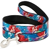 Disney Designer Pet Leash - The Little Mermaid - Swimming
