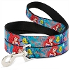 Disney Designer Pet Leash - Little Mermaid - Flounder & Castle