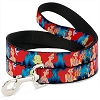 Disney Designer Pet Leash - Ariel & Flounder  - Dark Blue
