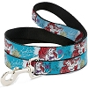 Disney Designer Pet Leash - Ariel Sketch Poses - Blues