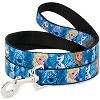 Disney Designer Pet Leash - Frozen - Elsa, Olaf & Anna