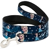 Disney Designer Pet Leash - Elsa Snowflakes - LET IT GO